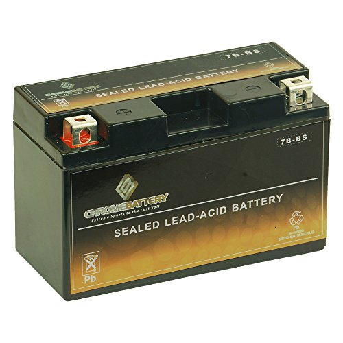 Chrome Battery YT7B-BS lead_acid_battery