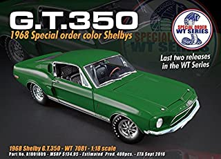 ACME 1:18 1968 SHELBY GT350 - SPECIAL ORDER COLOR WT 7081 RELEASE 5