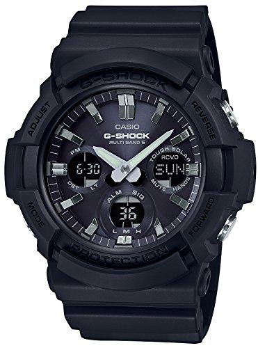 [カシオ] 腕時計 ジーショック 電波ソーラー GAW-100B-1AJF メンズ ブラック