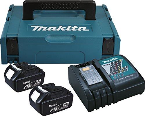 Makita 196866-5 Power Source Kit 4Ah (2Akkus inc. Ladegerät und Koffer)