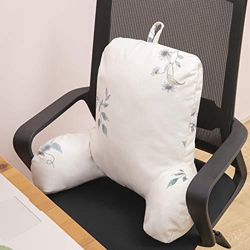 Zitkussen stoel, zitkussen tuinstoel, poeffe zitkussen, zacht kussen verlicht rugpijn in het stuitbeen, geschikt voor thuis, kantoor, 40 cm x 30 cm x 20 cm