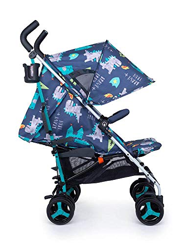 Cosatto Supa 3 Pushchair – Lightweight Stroller from Birth to 25kg - Compact Fold, Shopping Basket, Footmuff (Dragon Kingdom) Cosatto Suitable from birth – supa 3 is compact from-birth stroller. suitable up to 25kg, the sturdy but lightweight 9kg chassis lets your toddler use it for longer Easy to use – this lightweight stroller has a handy compact umbrella fold and carry handle so you can hop on and off transport with ease, whilst also being great for fitting into your car All in the detail – discover supa 3's detailing. from exquisite fabrics and finishes to a viewing window in the hood, fleece lined footmuff and reversible summer liner, this is understated luxury 3