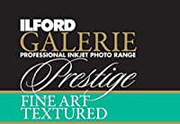 Ilford 2002405 17 X 50' Galerie Prestige Fine Art Textured Roll (Black) [並行輸入品]