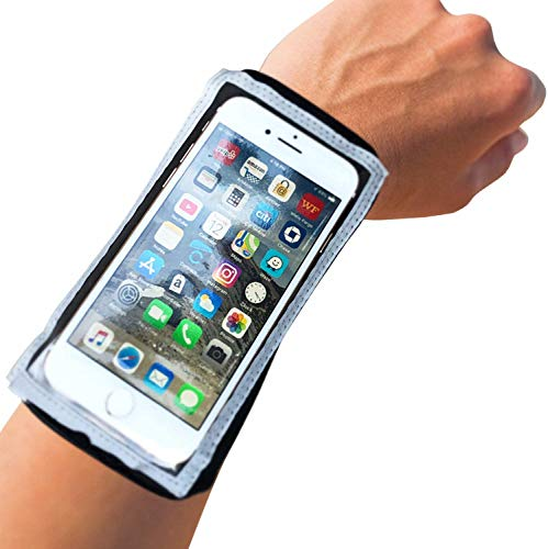 MyBand Phone Holder for Running - iPhone 12 Pro, 11Pro /XS/X/8/7 Galaxy S10 - Full Smartphone Functionality – Phone Case Free Design - Running Phone Holder – Does Not Fit iPhone Max or Plus