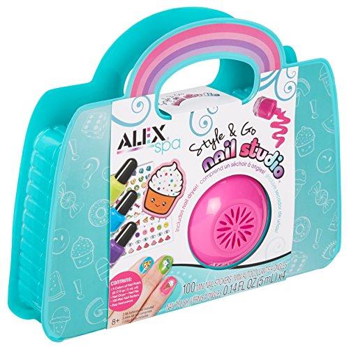 Alex Spa Style & Go Nail Studio Girls Fashion Activity