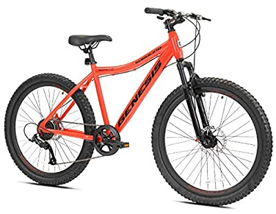 "Genesis 26"" Saracino Men's Mountain Bike, Red"