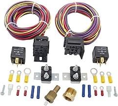 JEGS 10570 Dual Fan Wiring Harness & Relay Kit