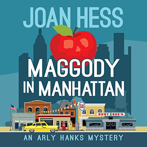 Maggody in Manhattan audiobook cover art