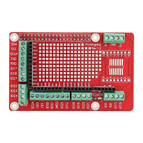 T opiky Multifunktionales Erweiterungskartenmodul mit Pin-Header für Raspberry Pi 4B / 3B + / 3B / 2B-Generation den Prototyp der