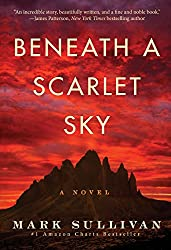 Book review of Beneath a Scarlet Sky: A Novel from Mark Sullivan. Parallels to World War II novel and modern social media.