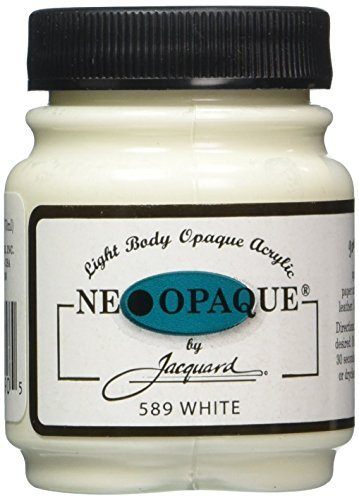 Jacquard Products NEOPAQUE-589 2-1/4-Ounce Acrylic Paint, White