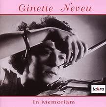 In Memoriam Ginette Neveu
