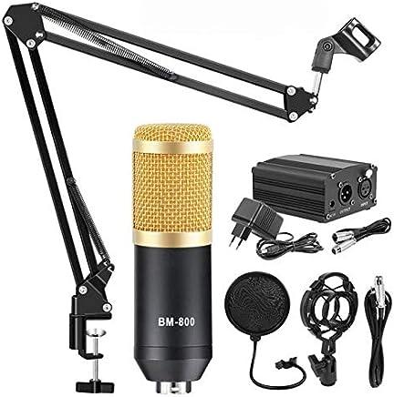 Scheam Microfono a condensatore Set, Set microfoni per Computer Laptop PC Microfono Podcast,per Registrazione Podcasting Chat in Linea Set con Microfono, Supporto, Linea XLR, Alimentatore, Filtro - Trova i prezzi più bassi