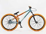 "Blackjack Mafiabikes D 26"" BMX Jump Bike Wheelie Bike Grey/Orange"