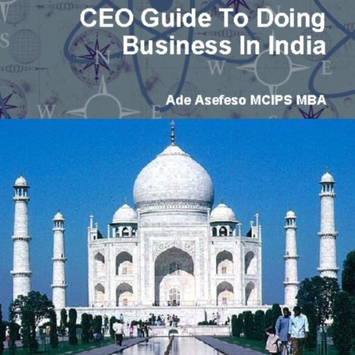 CEO Guide to Doing Business in India Titelbild