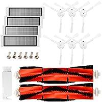 Kit di accessori per XIAOMI MI Parti di ricambio per aspirapolvere robot- 6 Spazzola laterale 4 HEPA Filter 2 Spazzola principale 1 Strumento di pulizia, per MI robot Mijia Roborock S50 S51 Robock 2