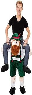 Halloween Carry Ride On Green Beer Guy Oktoberfest Mascot Costume