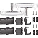 [NEW UPGRADED] Ultra Durable W10712394 Dishwasher METAL Rack Adjuster Kit Replacement Part by Blue Stars - Exact Fit for Whirlpool & Kenmore Dishwashers - Replaces W10238418 W10253546 PS10064063