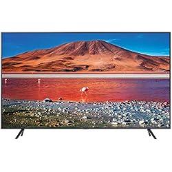 Samsung TV UE43TU7190UXZT Smart TV 43´´ Serie TU7190, Crystal UHD 4K, Wi-Fi, 2020, Argento, compatibile con Alexa
