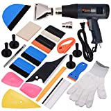 Ehdis 16 Kinds of Car Vinyl Wrap Tool Window Tint Kit for Auto Film Tinting Set Application Installation or...