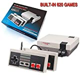 SUNHM Plug & Play Classic Game Handheld Console,Classic Game Console Built-in 620 Game Video Game Console,Handheld Game...