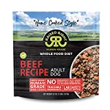 """Raised Right Beef Human-Grade Frozen Dog Food, Low Carb """"Home Cooked Style""""..."""