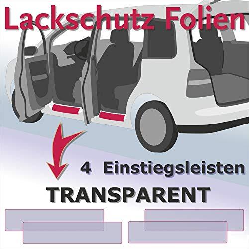 a partire dal 2015 Pellicola Protezione Vernice Paraurti Trasparente VW Touran
