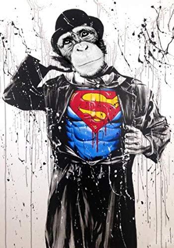 Ctdma Funny Monkey - Rompecabezas De 1000 Piezas: Desafíate A Ti Mismo con Rompecabezas De 1000 Piezas para Adultos, Adolescentes Y Niños, para Regalo Educativo, Decoración del Hogar
