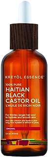 Kreyol Essence, Castor Oil Pure Haitian Black, 3.4 Ounce