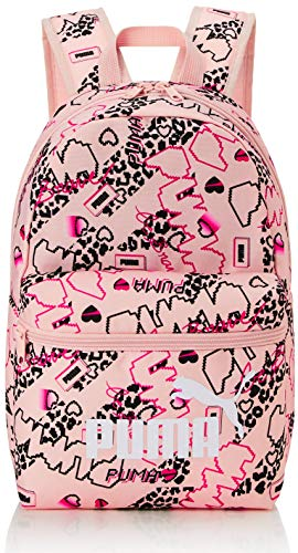 PUMA Phase Small Backpack Mochilla, Unisex niños, Peachskin/Girls AOP, OSFA