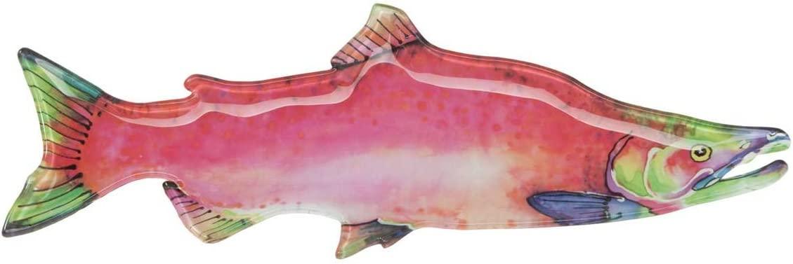 Big Sky Carvers Max 60% OFF Our shop most popular Glass Salmon Sockeye Platter
