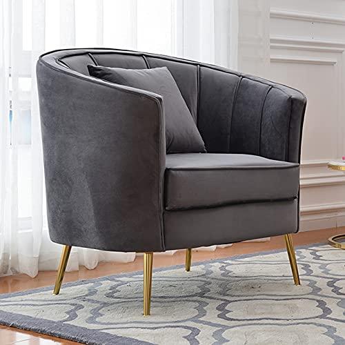 Creator-Z Sessel Scandinavian Design Couchhusse für Einsitzer Couchsessel oder Loungesessel, Stuhl, Wohnzimmer,Grau