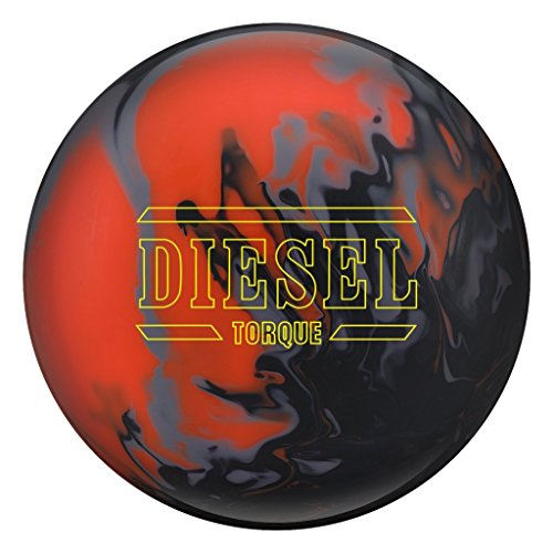 Hammer Bowling Products Diesel Torque Bowling Ball Orange/Gray/Black, 10lbs