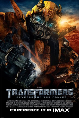 TRANSFORMERS 2 REVENGE OF THE FALLEN MOVIE POSTER 2 Sided ORIGINAL BUMBLE BEE 27x40