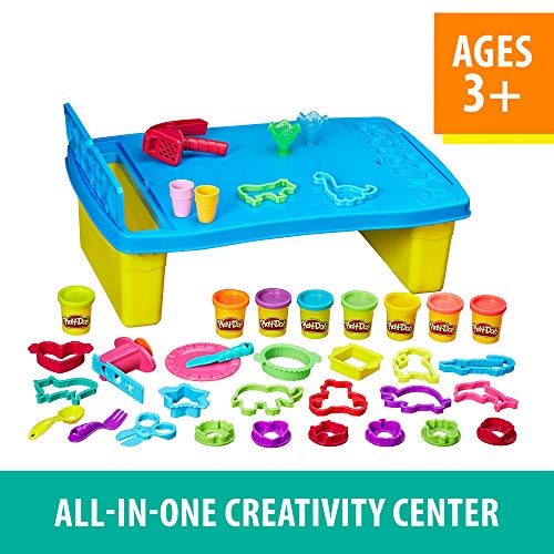 Image of Play-Doh Play 'n Store Table, Arts & Crafts, Activity Table, Ages 3 and up (Amazon Exclusive)
