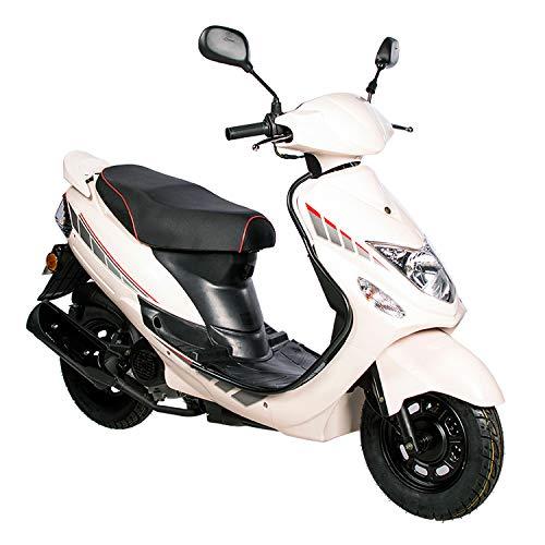 GMX 460 Sport Scooter 45 km/h wit - zuinig 4-takt 50 cc Mokick met Euro 4-uitlaatgasnorm