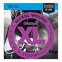 D'Addario EXL120BT×3SET エレキギター弦