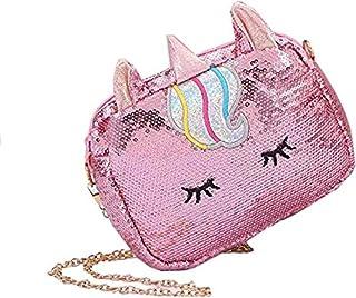 Rockjon Unicorn Sling Bag Wallet Clutch Long Holographic Ladies Purse Girl Zipper Coin Purse Kids Female Wallet Glitter Se...