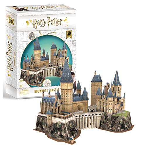 University Games 7565 - Puzzle 3D di Harry Potter Hogwarts Castle