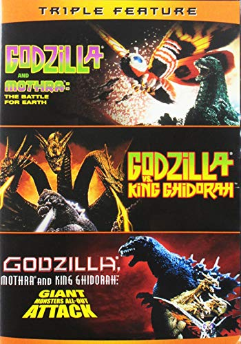 Godzilla Vs. King Ghidorah / Godzilla Vs. Mothra (1992) / Godzilla, Mothra, and King Ghidorah: Giant Monsters All-Out Attack - Set