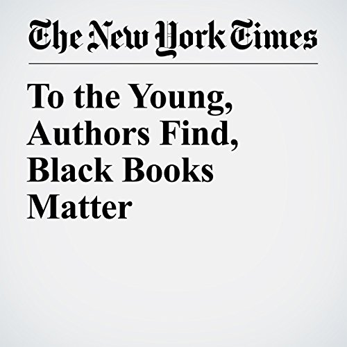 To the Young, Authors Find, Black Books Matter audiobook cover art