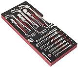 Kraftwerk 4903 29 EVA3 Jeu de 13 clés à pipe 19 mm