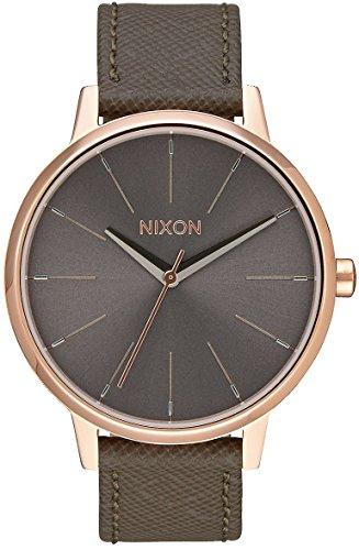 Nixon NIXON Kensington Leather -Spring 2017- Rose Gold/Taupe