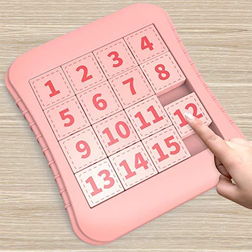 Digitales HuarongdaoLernspielzeug für pädagogisches Denken, Intelligenz und Gehirntraining für Kinder, SchiebepuzzleLogikPuzzle für Grundschüler