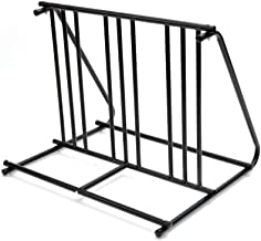 TMS Hd Steel 1-6 Bikes Floor Mount Bicycle Park Storage Parking Rack Stand 2 3 4 5