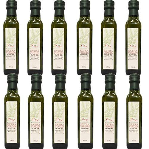 スペイン産 エクストラバージンオリーブオイル 250mlx12本 業務用 エキストラバージン エキストラヴァージン 酸化しにくい小瓶サイズ