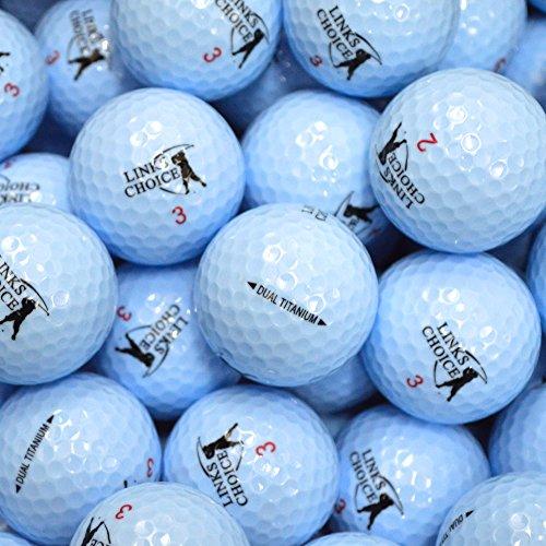 Links Choice Farbige Golfbälle, 12Stück Blau blau
