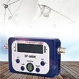 Satellite Signal Meter, LCD Screen Built-in Signal Alert Buzzer Digital Satellite Finder Signal Strength Dish...