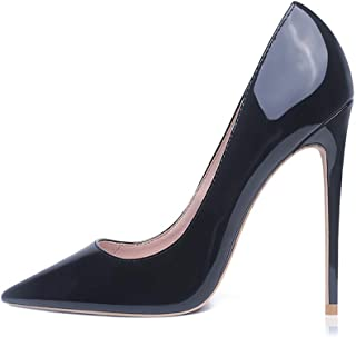 Women Fashion Pointed Toe High Heel Pumps Sexy Slip On Stiletto Party Shoes