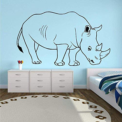 Pegatinas De Pared Decoración Jungla Pantano Río Animal Calcomanía De Pared Diseño Animal Estilo Pared Arte Mural Decoración 57 * 33 Cm